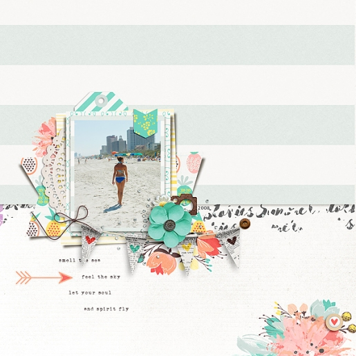 Storyteller 2016 :: Summer Stories Kit Collab - July Add-on by Just Jaimee and Sara Gleason Storyteller 2016 July - Template Pack by Just Jaimee