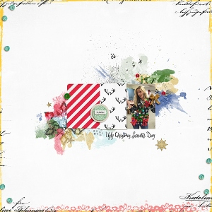 Believe by Valorie Wibbens Drama Queen Magic by Valorie Wibbens December Dots and Doodads by Amy Wolff Messy Edges by Amy Wolff Press Plate No. 40 by Paislee Press