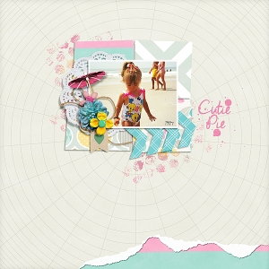 Softly Now Papers by Tracy Martin Wee Bit Torn Templates by Tracy Martin  Lime in the Coconut by Tracy Martin