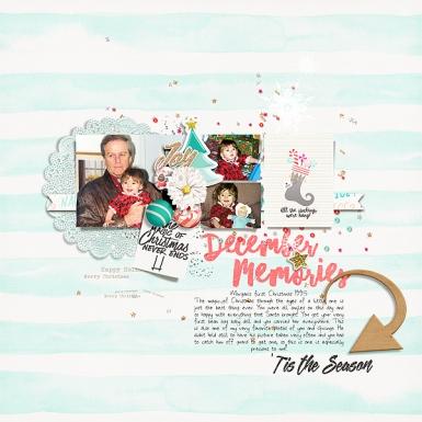 Storyteller 2016 :: Holly Digital Kit - December Add-on by Just Jaimee and Anita Designs Storyteller 2016 December Sketched Templates by Just Jaimee