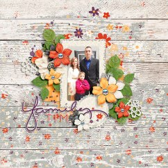Crystal's Layered Templates Set 1 by Crystal Livesay Hello Weekend by Amber Shaw