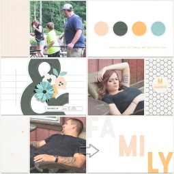 Family Time Papers, Cards, and Elements by MEG Designs