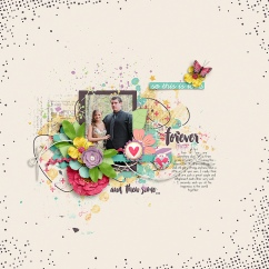 Forever and Then Some by River~Rose Crystal's Layered Templates Set 1 by Crystal Livesay