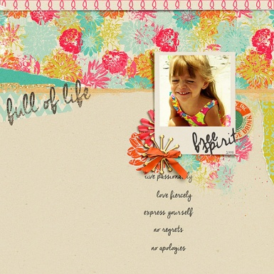 Passionately by Amber LaBau The Way It Is Template by Lynn Grieveson