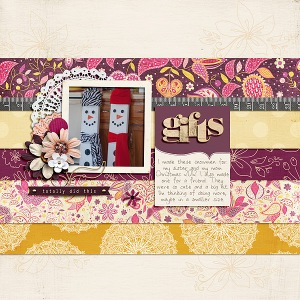 Handmade by Gennifer Bursett and Jen Allyson Nov Template Challenge Template by Lynette