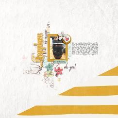 Coffee Break by Just Jaimee Storyteller 2016 July :: Sketched Templates by Just Jaimee