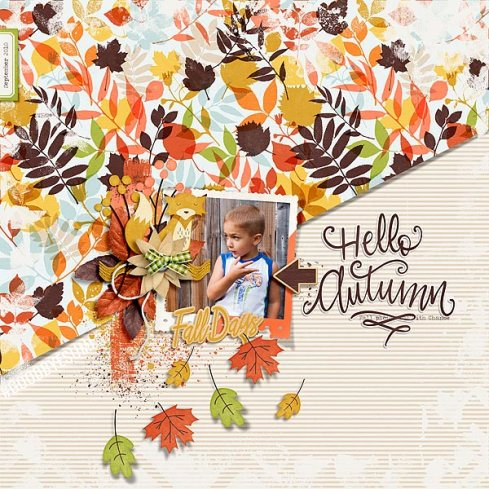 Hello Autumn by Just Jaimee