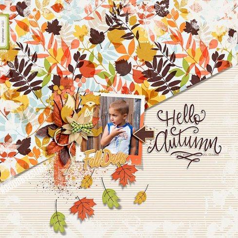Hello Autumn by Just Jaimee