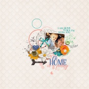Home is a Feeling by River~Rose Artsy Fartsy {Dressed Down} by Fiddle-Dee-Dee Designs