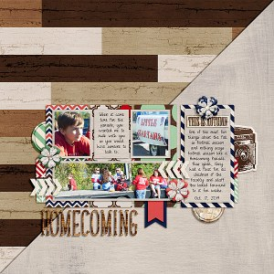 Stay Warm by River~Rose Quick Scraps Vol. 6 by Anita Designs
