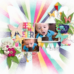 Summertime Elements by Kristin Aagard Summertime Papers by Kristin Aagard Fluttered {Dressed Up} by Fiddle-Dee-Dee Designs