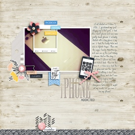 iGeneration by Sabrina's Creations with Sketch and Story Starter from Simple Scrapper Premium Membership