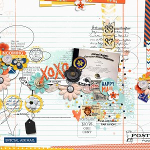 Snail Mail Kit by Studio Basic,, Sugary Fancy, and Traci Reed Snail Mail Brushes and Stuff by Studio Basic