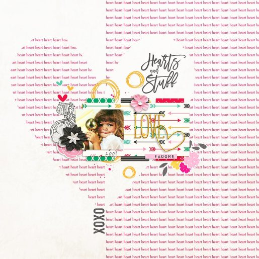 Hearts and Stuff Bundle by River~Rose and France M. Designs January 2016 Layout Templates by Sahin Designs