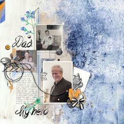 #1 Dad Collection by Dawn Inskip Springboard Templates No. 1 by Lynn Grieveson