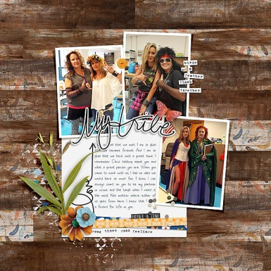 My Tribe Kit by Amber LaBau Template and Story Starter from Simple Scrapper Premium Membership