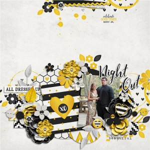 A Night Out Bundle by Traci Reed retired template by Zoliofrope