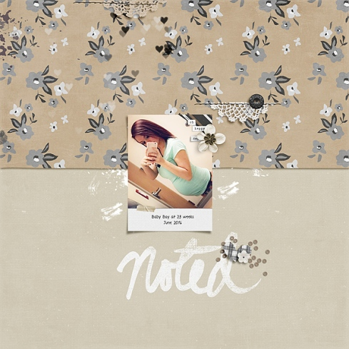 Journalers No. 7 by Valorie Wibbens Sprinkles Foundation by Valorie Wibbens Simplicity by Valorie Wibbens Memory Pockets Monthly Add-on Collection: FOUNDATION Topography No. 23 by Valorie Wibbens