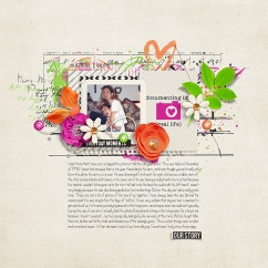 Everyday Has A Story Bundle by Studio Basic, Two Tiny Turtles, and River~Rose Lots to Say Templates by Crystal Livesay