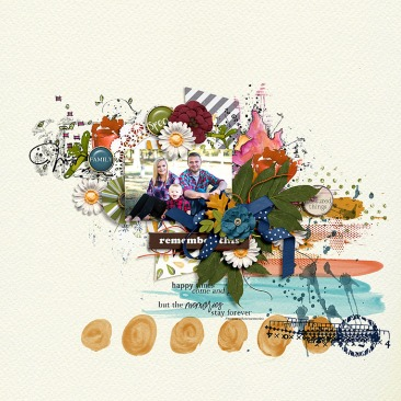 Treasured: The Things Collab by The Lilypad Designers Mix It Up Template by Crystal Livesay