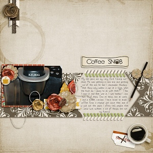 Morning Coffee Kit by Etc by Danyale Morning Coffee Word Art by Etc by Danyale Gimme Layers Vol. 50 by Cluster Queen Creations