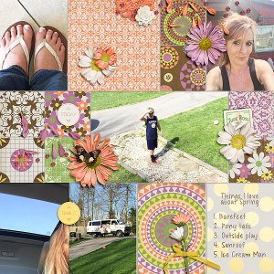Spring Fancy by Etc by Danyale Story Grids v2 by Amber LaBau