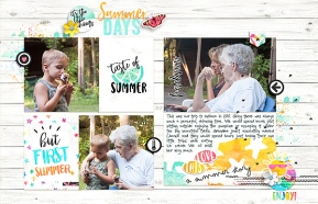 Storyteller July 2017 by Just Jaimee with Sketch and Story Starter from Simple Scrapper Premium Membership