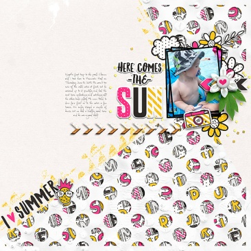 Summer Digital Kit - Storyteller June 2017 Add-on by Just Jaimee Templates - Storyteller June 2017 Add-on by Just Jaimee