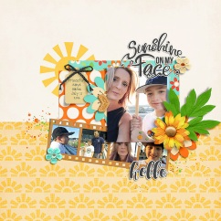 Mr. Golden Sun by River~Rose Template by Wishing Well Creations