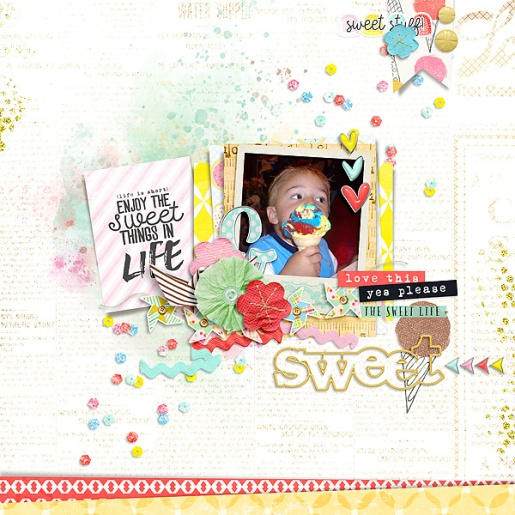 Storyteller 2016 - A Sweet Life Bundle Collab by Just Jaimee and Creashens Storyteller 2016 - April Templates by Just Jaimee