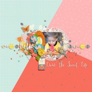 Life Is Sweet by River~Rose All About That Space Templates by Crystal Livesay