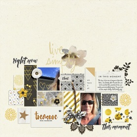 Right Now: January 2016 Collection by Pixels and Company Layered Layouts v.7 by Deena Rutter
