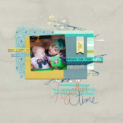 Good Stuff Papers by Amy Wolff Good Stuff Elements by Amy Wolff Wonderful You Template by Lynn Grieveson
