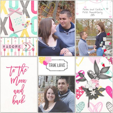 Pocket Page Templates by River~Rose Hearts and Stuff Bundle by River~Rose and France M. Designs