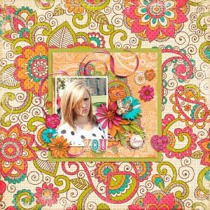 Fuss Free: Dots and Bows 2 by Fiddle-Dee-Dee Designs Gypsy by Etc by Danyale