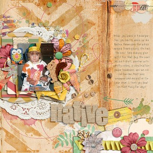 "Credits: Don't Stop Be""leaf""ing Bundle by Tracy Martin Getting Artsy Templates Vol. 1 by Cluster Queen Creations"
