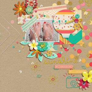 Credits: Paradise by Tracy Martin at Oscraps and Fuss Free: Torn 2 by Fiddle-Dee-Dee at Scrap Orchard