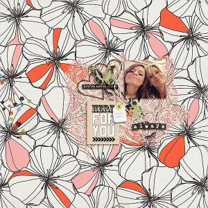Lean On Me Collab by Little Butterfly Wings and Pink Reptile Designs Topography No. 12 by Valorie Wibbens
