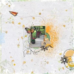 ARTBook - Through My Window by Val C. Designs