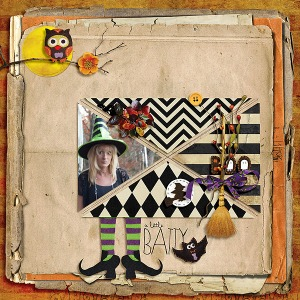 Bewitched by Tracy Martin Journalers No. 4 by Valorie Wibbens