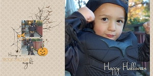 Happy Halloween by Anita Designs Bookplate n5 by Sabrina's Creations