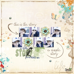 October Copycat by timounette ArtBook - Simple Story - the kit by Val C. Designs