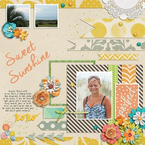 Sweet Sunshine by Tracy Martin Fuss Free: Summer Stories by Fiddle-Dee-Dee Design