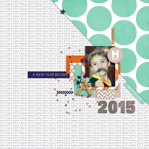 Sparkling Year  by MEG Designs