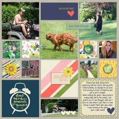 Treasured - May 2015 Collection by Pixels and Company Outside the box v2 by Gennifer Bursett Weekly Edition by One Little Bird