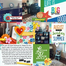 Pocket Life '15: August Collection by Traci Reed