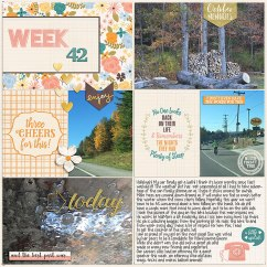 Pocket Life '15 - October Collection by Traci Reed 365Unscripted: Plastic Stitched Grids by Traci Reed