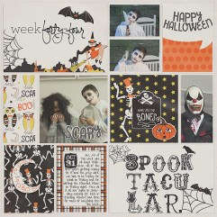 Happy Haunting Papers, Elements, and Journal Cards by Sweet Caroline Studio Outside the Box Vol. 1 by Gennifer Bursett