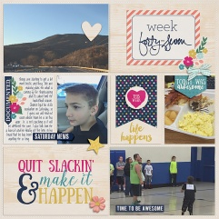 Pocket Life '15: November Collection by Traci Reed 365Unscripted: Plastic Stitched Grids Bundle by Traci Reed