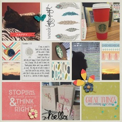 November Collection by Pixels and Company Pocket Pages by Gennifer Bursett